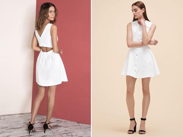 L'art de bien porter la petite robe blanche