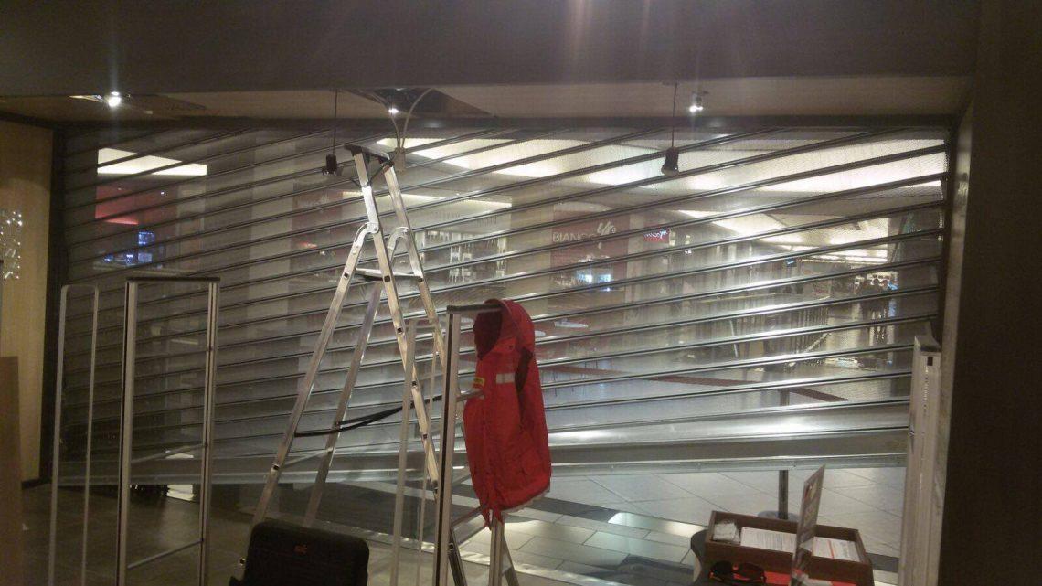 SOS réparation serrurerie : dépannage rideaux métalliques